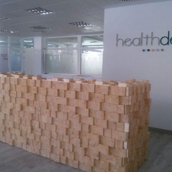 Mun Interiorismo Zaragoza Comercial Hosteleria mostrador dentista