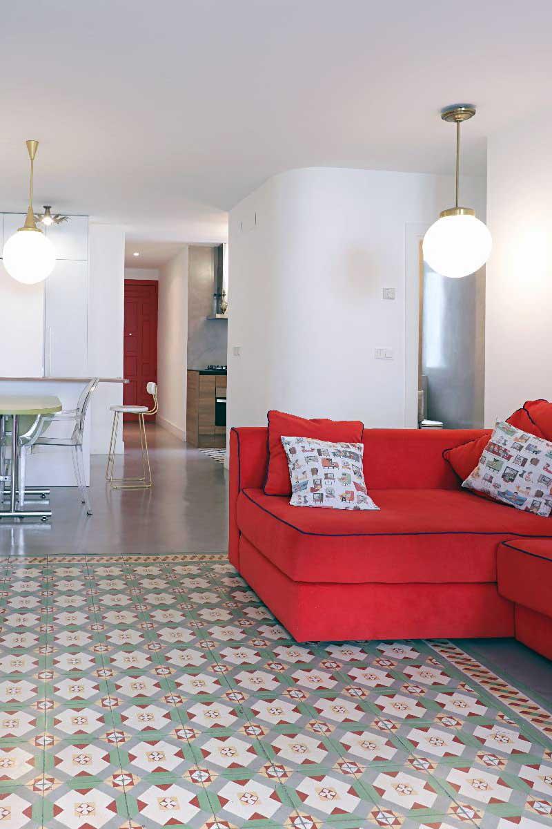 Mun Interiorismo Zaragoza vista general apartamento