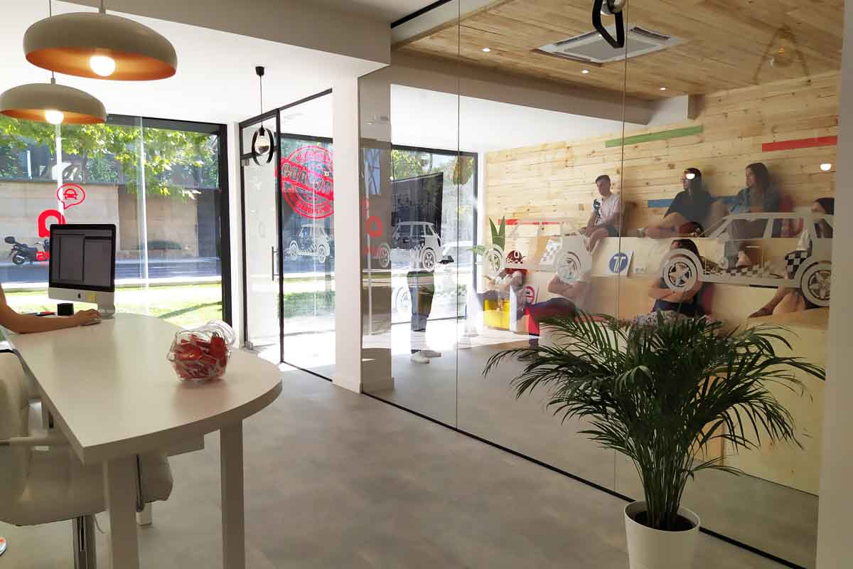 Mun interiorismo Zaragoza instalaciones franquicias