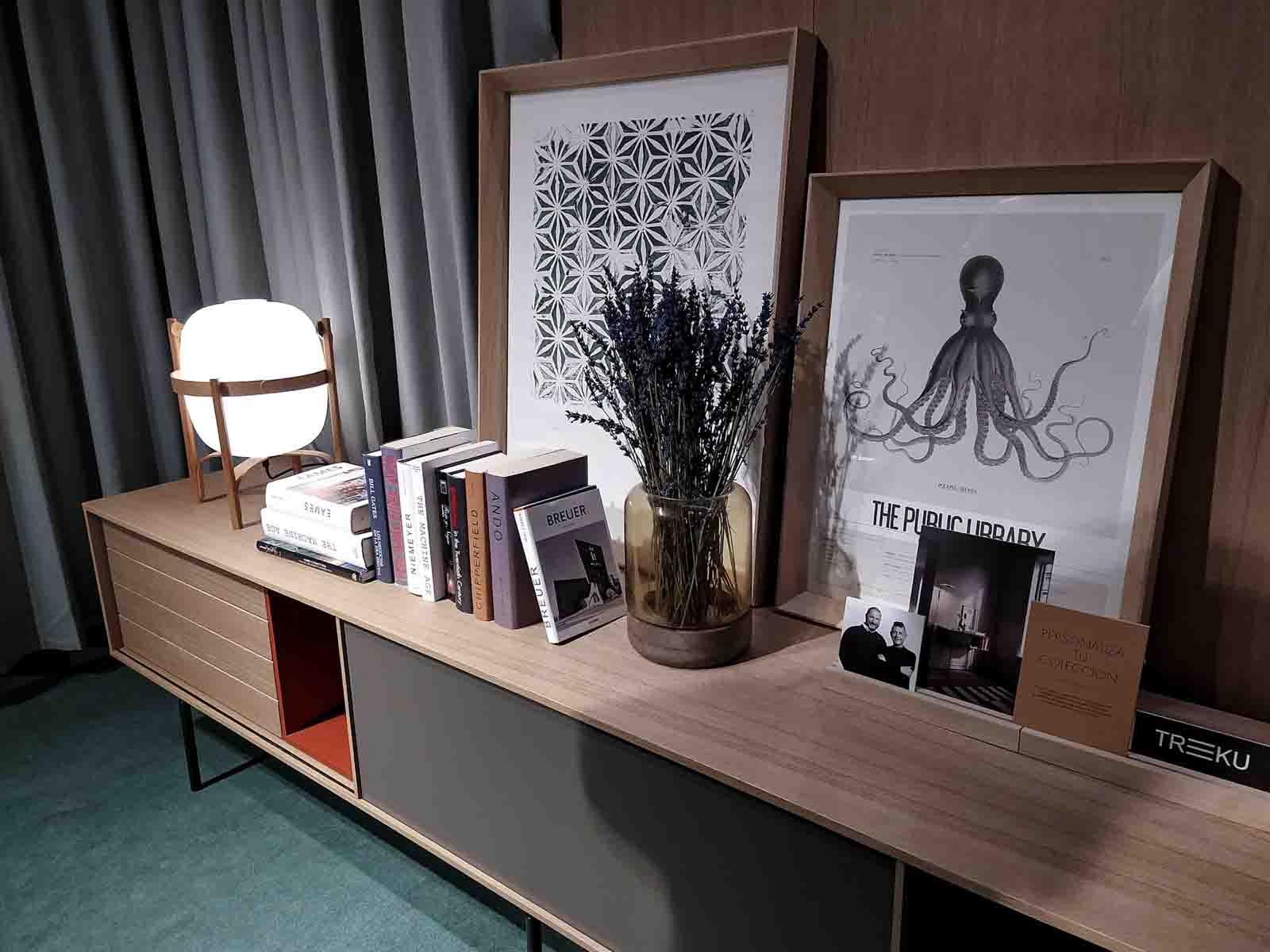 Visita de Mun interiorismo a Feria Habitat 2019 salon mueble