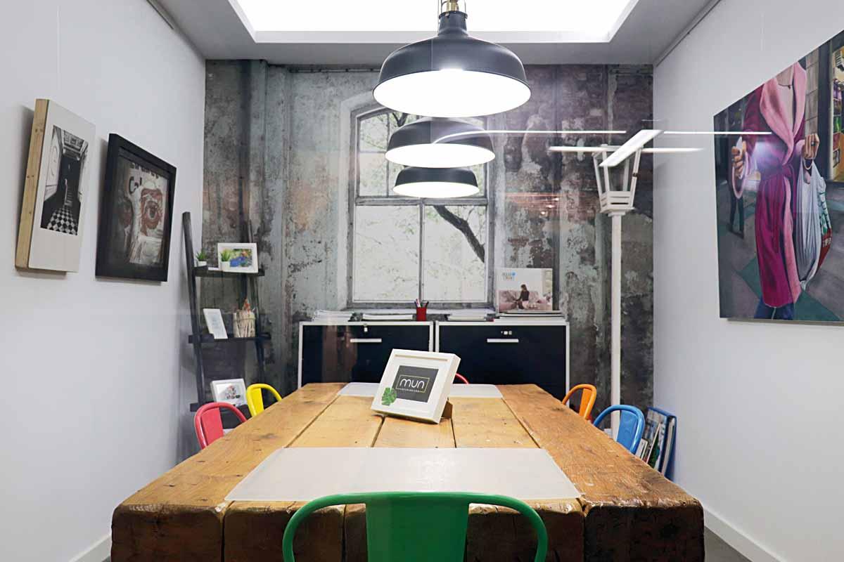 mun interiorismo zaragoza oficina sala reuniones