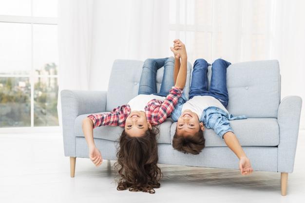 Las familias con niños tienen el reto de transformar su hogar.