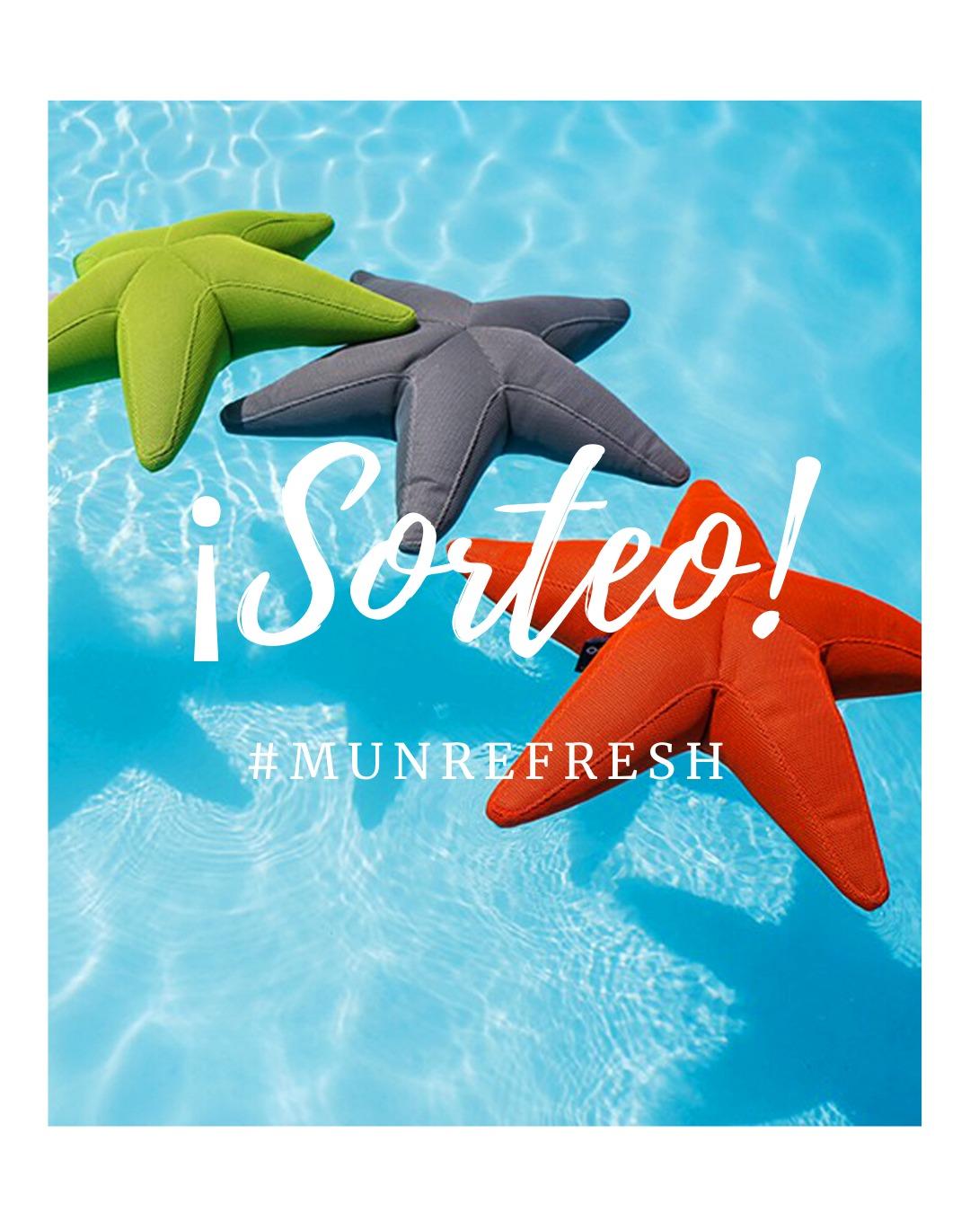 Imagen promoción del sorteo del verano, puf starfish de Ogo