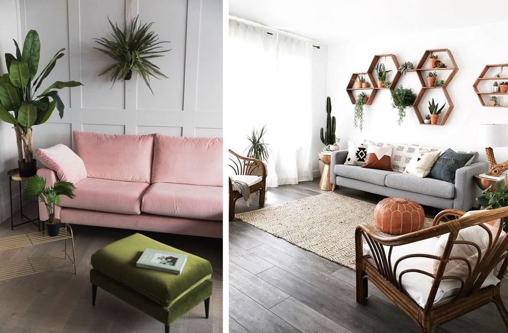 Ejemplos de decoración vegetal en casa