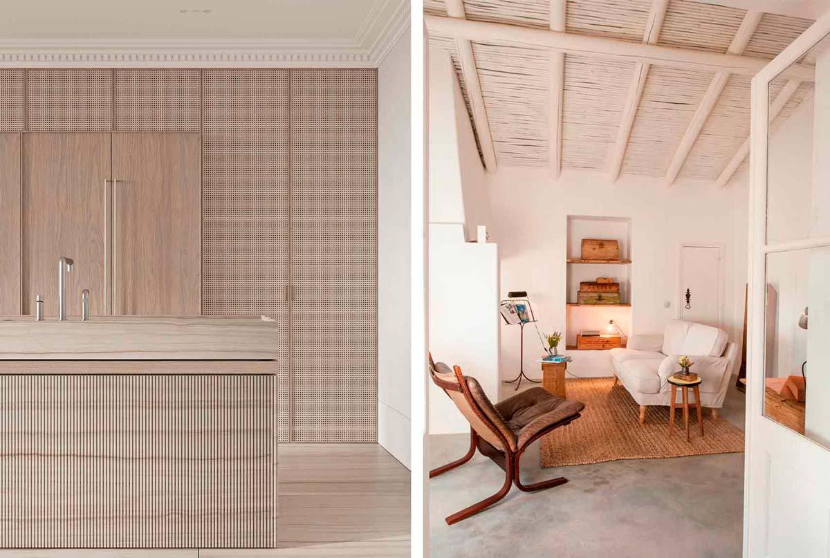 Ejemplos de fibras naturales para mobiliario y accesorios
