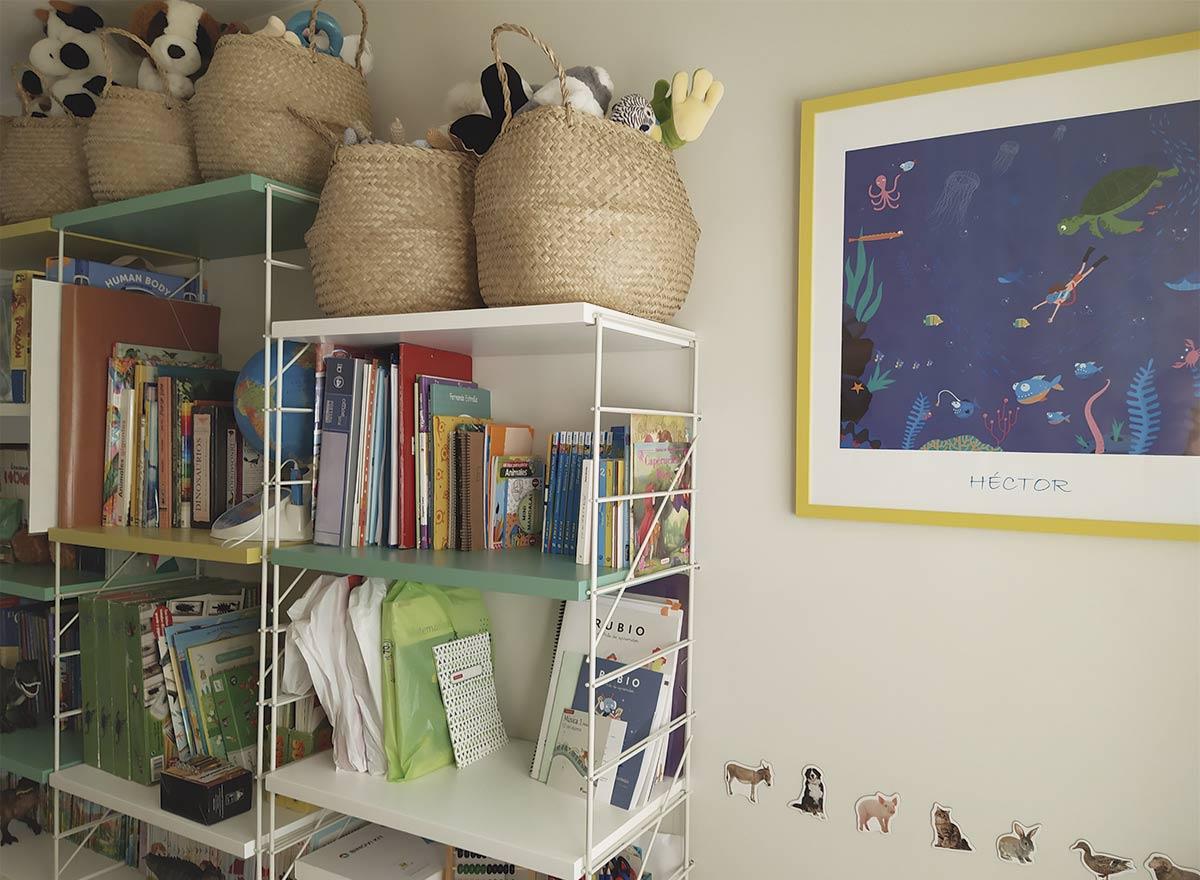 En la decoración de habitaciones infantiles los detalles sentimentales son muy importantes