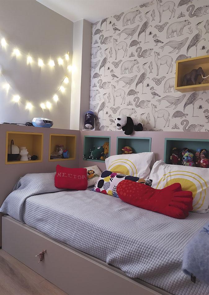 Diseño y fabricación de cabecero de cama a medida en la decoración de habitaciones infantiles
