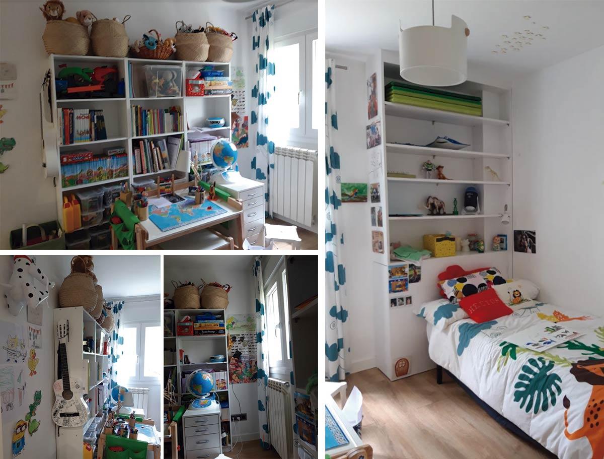 Decoración de habitaciones infantiles. Antes de la decoración