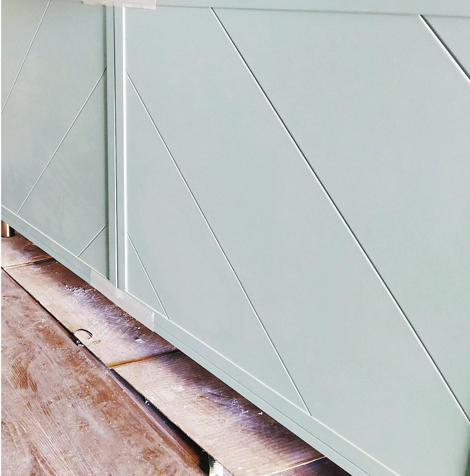Detalle de Soluciones mobiliario en el restyling