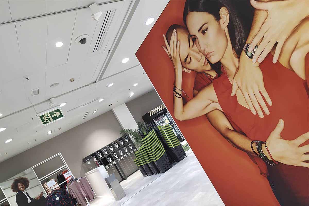 servicios de interiorismo para centros comerciales