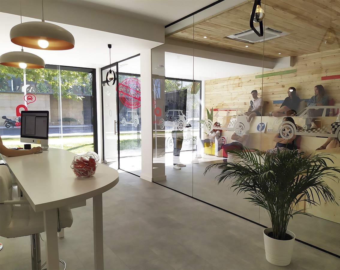 interior terminado en la decoreacion e interiorismo del local