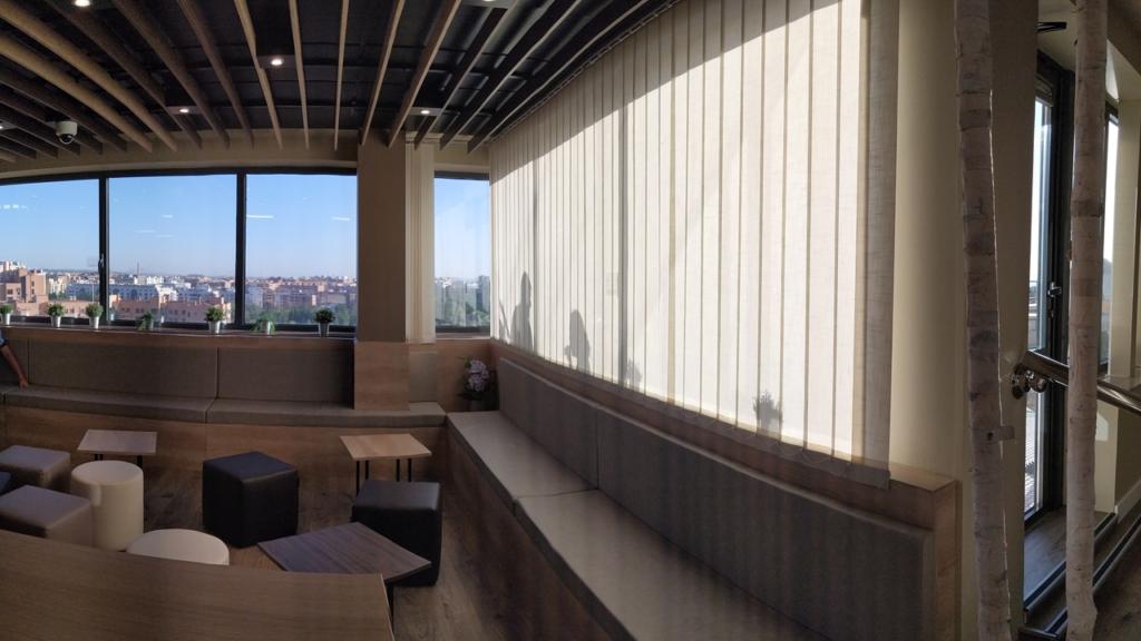 Selecta Starbucks después de la reforma asientos ventanales