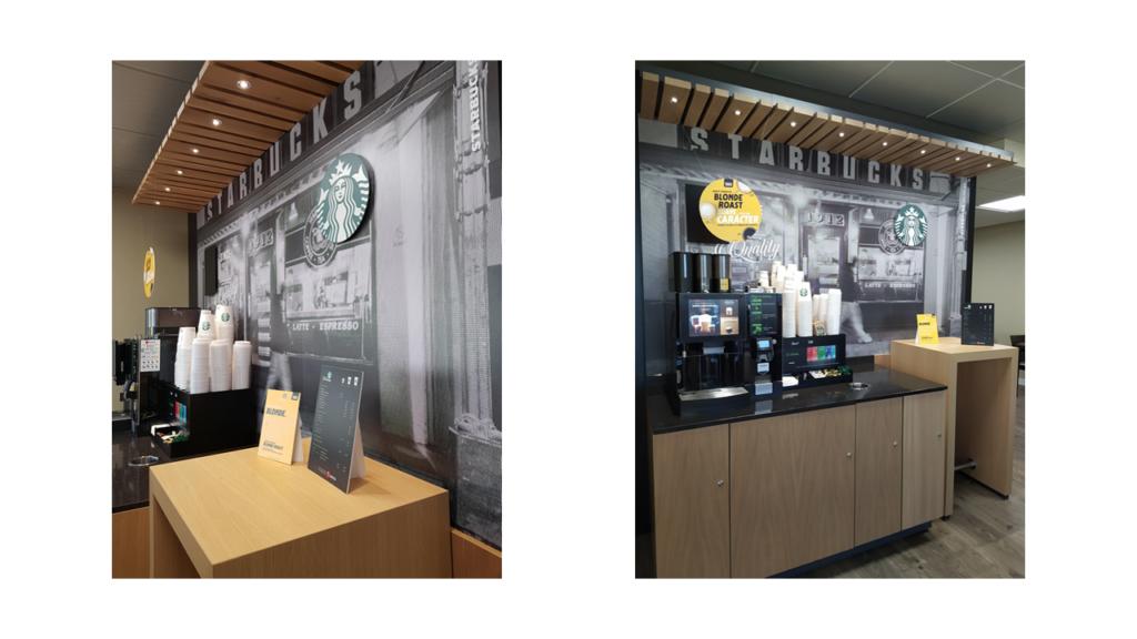 Selecta Starbucks después de la reforma