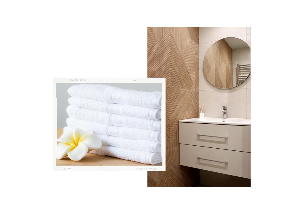 radiador toallero en aseo reformado