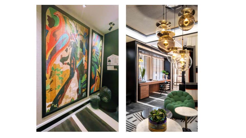 Interiorismo y decoración en Casa Decor 2021 Despacho para jugar