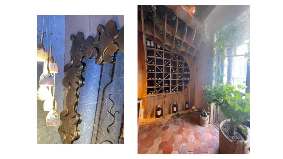 Interiorismo y decoración en Casa Decor 2021 decoración bodegas