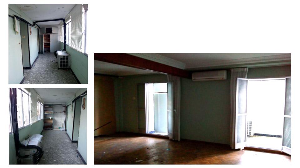 antes salon y terraza entrada reforma integral transformación total