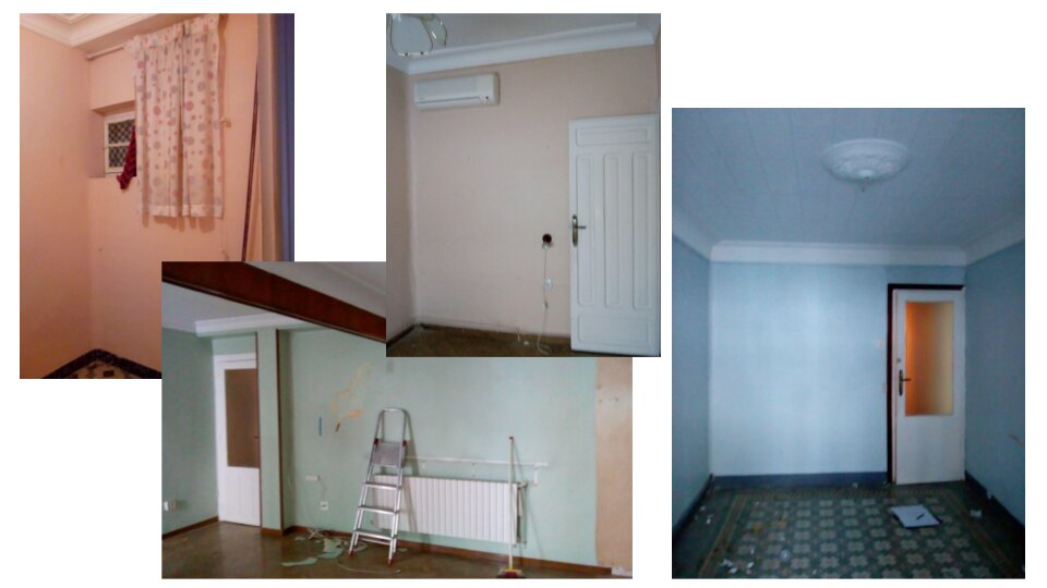 antes salor y dormitorios reforma integral transformación total