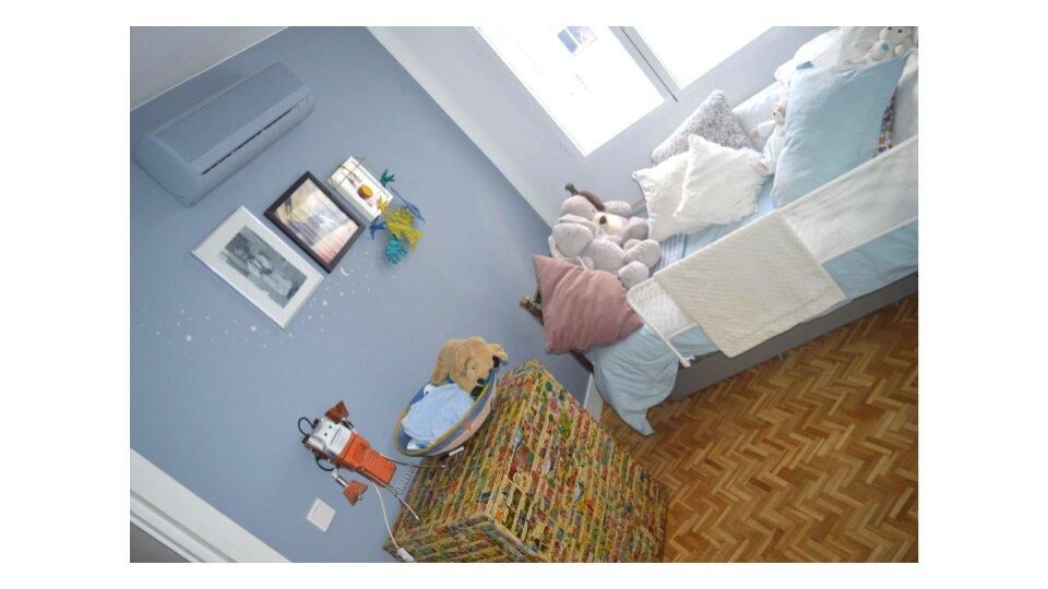 reforma integral transformación total resultado dormitorio infantil
